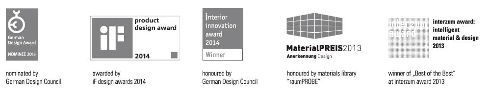 Awards in grey