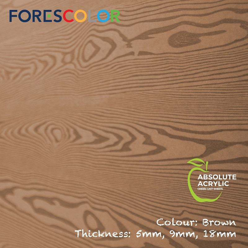 Embossed Brown wood