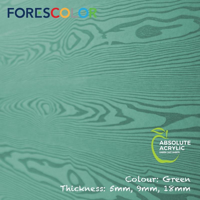 Embossed Green wood
