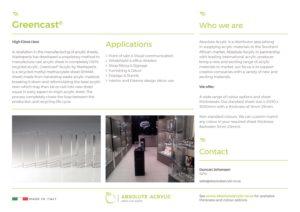 Greencast-Brochure
